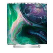 Planet B Shower Curtain