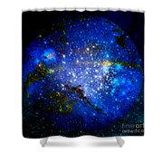Planet Disector Home Shower Curtain