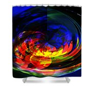 Planetarium Shower Curtain