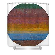 Planetary Eleven Shower Curtain