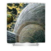 Planets 1 Shower Curtain
