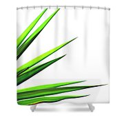Plant Shower Curtain