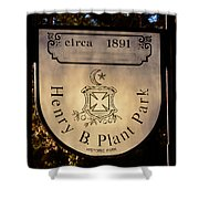 Plant Park Since 1891 Shower Curtain
