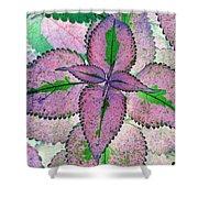 Plant Pattern - Photopower 1212 Shower Curtain