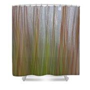 Plant Stem Sweep Shower Curtain