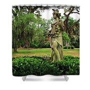 Plantation Garden New Orleans  Shower Curtain