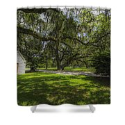 Plantation Grounds Shower Curtain