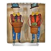 Planter Buddies Shower Curtain