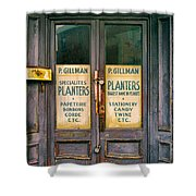 Planters Shower Curtain