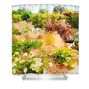 Planting Hope Shower Curtain