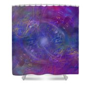 Plasma Drive Ignition Shower Curtain