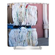 Plastic Bags To Be Recycled Shower Curtain