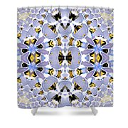 Plastic Chairs Shower Curtain