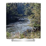 Plate River No 2 Shower Curtain
