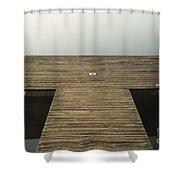 Platform 33 Shower Curtain by Anne Gilbert