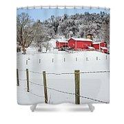 Platt Farm Shower Curtain