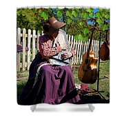 Play A Song For Me Shower Curtain
