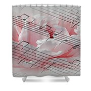 Play It Softly Shower Curtain
