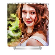 Play Mistie For Me Shower Curtain