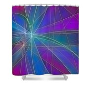 Play Of Colours Shower Curtain