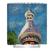 Play Of Light - University Of Tampa Shower Curtain