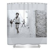 The Joy Of Life Shower Curtain