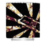 Play The World Shower Curtain