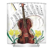 Play To The Lord Shower Curtain