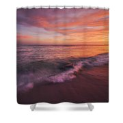 Playa De Fuego  Shower Curtain