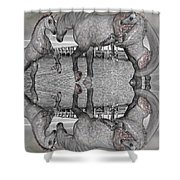 Playful Blessings Shower Curtain
