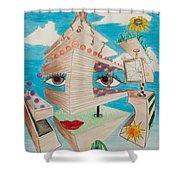 Playground Dreams Shower Curtain