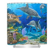 Playground Re004 Shower Curtain