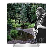 Playing For The Creek 2 Shower Curtain