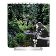 Playing For The Creek 3 Shower Curtain