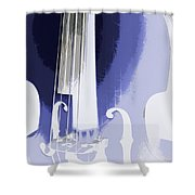 Playing On The Strings Shower Curtain