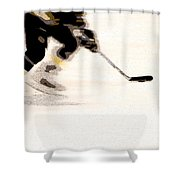 Playing The Game Shower Curtain by Karol Livote