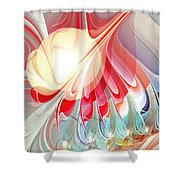 Playing With Colors Shower Curtain by Anastasiya Malakhova