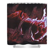 Playing With Fire 2 By Jrr Shower Curtain