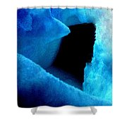 Playing With The Snow And Ice Kappl Mountain Austria  Shower Curtain