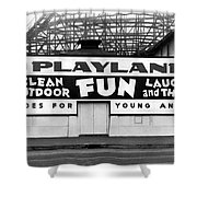 Playland At The Beach Shower Curtain