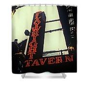 Playwright Tavern Shower Curtain