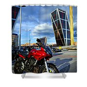 Plaza De Castilla Shower Curtain