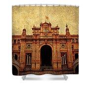Plaza De Espana 1. Seville Shower Curtain