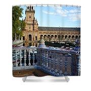 Plaza De Espana Shower Curtain