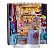 Shop At The Boardwalk Plaza Hotel - Rehoboth Beach Delaware Shower Curtain