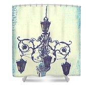 Plaza Light Shower Curtain
