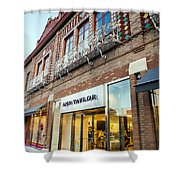 Plaza Store Shower Curtain