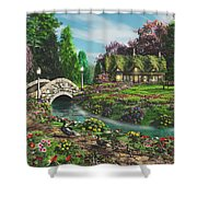 Pleasant Journey Shower Curtain
