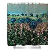 Pleasant Meadows Shower Curtain