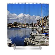 Pleasure Of Boating Shower Curtain